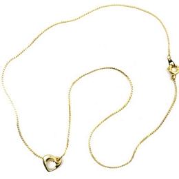 Κολιέ με χρυσή κρεμαστή καρδιά ba0426dc777