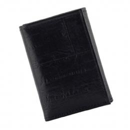 7431d26d4beb Croco print δερμάτινο Αμερικάνικο ανδρικό πορτοφόλι