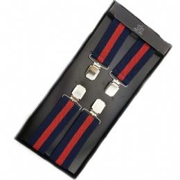 Unisex τιράντες με μπλε και κόκκινες ρίγες 8a88de5728f
