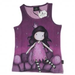 2e4a0d40e7f Μωβ αμάνικο μπλουζάκι Santoro πριγκίπισσα