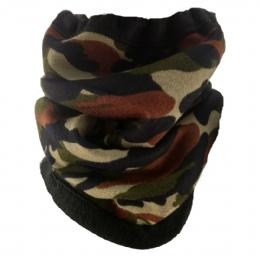 c1cbcfaaaa51 Unisex fleece military λαιμός - σκούφος διπλής όψης